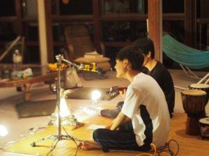 糸魚川ゲストハウス山楽で音楽ナイト!合宿やライブ会場にもおすすめ!