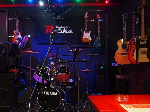 Music Bar「Rocka」-共有リストで簡単セッション!