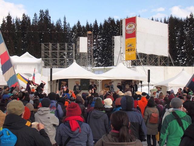 一年で一番最初に行われる野外音楽フェス、「豪雪JAM」に参加してきた!