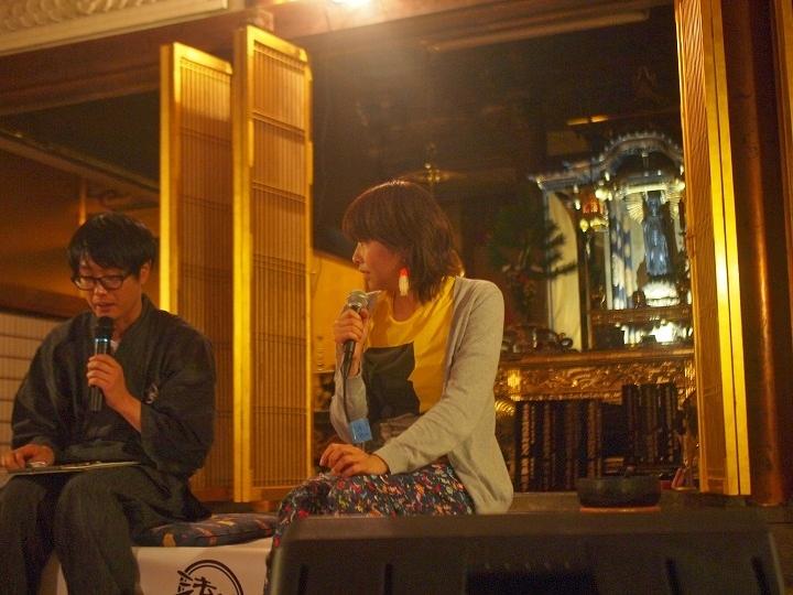 木揚場教会・草間さんと、松崎ナオさん